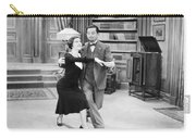 Silent Film Still: Dancing Carry-all Pouch by Granger