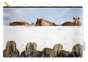 162669 Horse Walls Animals National Geographic Carry-all Pouch