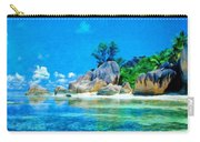 Nature Oil Painting Landscape Images Carry-all Pouch
