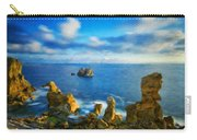 Nature Oil Painting Landscape Carry-all Pouch