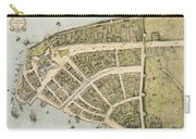 1660 New Amsterdam Map Carry-all Pouch
