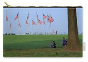 17 Flags 7 People 1 Tree Trunk Carry-all Pouch