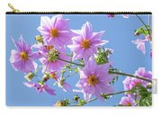 Fully Bloomed Pink Dahlia Imperialis At Garden In November Carry-all Pouch