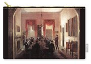 Jlm-1820-henry Sargent-the Dinner Party Henry Sargent Carry-all Pouch