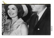 John F Kennedy (1917-1963) Carry-all Pouch by Granger