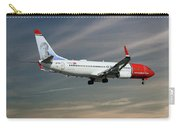 Norwegian Boeing 737-8jp Carry-all Pouch