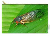 17 Year Periodical Cicada Carry-all Pouch