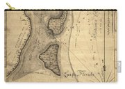 1765 Florida Coast Map Carry-all Pouch