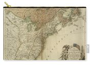 1783 United States Of America Map Carry-all Pouch