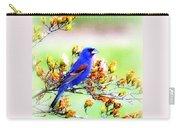 1795 - Blue Grosbeak Carry-all Pouch