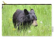 American Black Bear Yellowstone Usa Carry-all Pouch