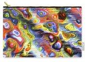 Fractal Modern Art Seamless Generated Texture Carry-all Pouch