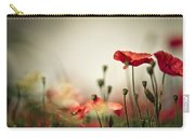 Poppy Meadow Carry-all Pouch