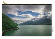 Skagway Alaska In June, Usa Northern Town Near Canada Carry-all Pouch