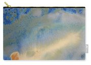 18. V1 Blue, Green, And Brown Glaze Painting Carry-all Pouch