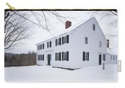 1800 White Colonial Home Carry-all Pouch