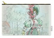 1801 Paris France Fashion Drawing Carry-all Pouch
