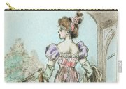 1803 Paris France Fashion Drawing Carry-all Pouch