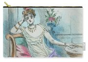 1804 Paris France Fashion Drawing Carry-all Pouch