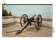 1841 Model Six Pounder Cannon At Fort Mackinac Carry-all Pouch