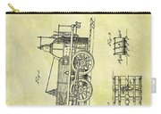 1845 Locomotive Patent Carry-all Pouch