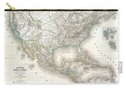 1858 Dufour Map Of The United States  Carry-all Pouch