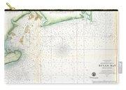 1859 U.s. Coast Survey Map Of Bull's Bay South Carolina Carry-all Pouch