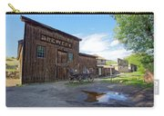 1863 H. S. Gilbert Brewery - Virginia City Ghost Town Carry-all Pouch