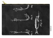 1867 Fishing Lure Patent Carry-all Pouch