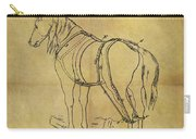 1868 Horse Harness Patent Carry-all Pouch