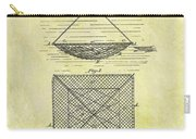 1869 Fishing Net Patent Carry-all Pouch