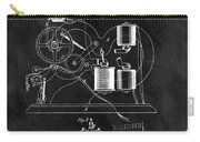 1870 Thomas Edison Print Patent Carry-all Pouch