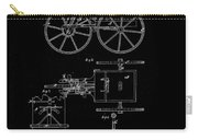 1871 Hand Carriage Patent Drawing Carry-all Pouch