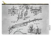 1873 Guitar Patent Blueprint Carry-all Pouch
