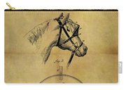 1874 Horse Blinder Patent Carry-all Pouch
