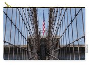 1875 Brooklyn Bridge Tower Color  Carry-all Pouch