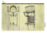 1876 Beer Cooler Patent Carry-all Pouch