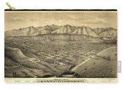 1877 Santa Barbara California Map Carry-all Pouch