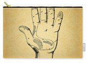 1878 Corn Husking Glove Patent Carry-all Pouch