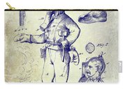 1880 Fireman Suite Patent Carry-all Pouch