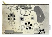 1881 Revolver Patent  Carry-all Pouch