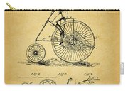 1883 Bicycle Carry-all Pouch