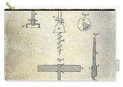 1884 Corkscrew Patent Carry-all Pouch