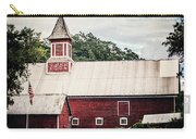 1886 Red Barn Carry-all Pouch by Lisa Russo