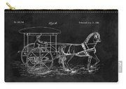 1888 Horse Drawn Carriage Carry-all Pouch