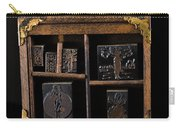 1890 Ink Stamps For Letters Carry-all Pouch