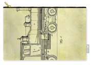 1891 Locomotive Patent Carry-all Pouch