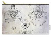 1893 Pocket Watch Patent Carry-all Pouch