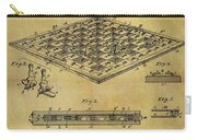 1896 Chess Set Patent Carry-all Pouch