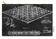 1896 Chessboard Patent Carry-all Pouch